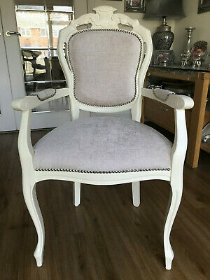 A Beautiful French Style Boudoir Statement display dresser carver Chair