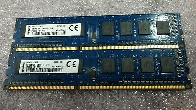 Kingston 8GB (2 x 4GB) 1Rx8 PC3L 12800U Memory (RAM)