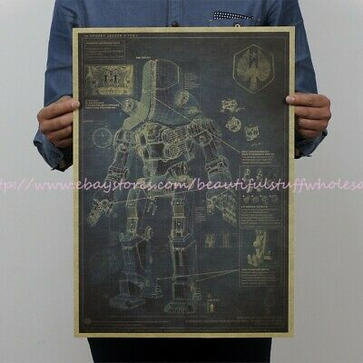 US SELLER- coastal decor iron man patent drawing poster