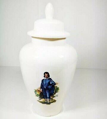 Vintage Blue Boy & Pinkie Porcelain Cookie Jar | c. 1977 | Huntington Library