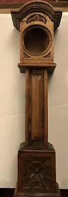 Solid Wood Minature Grandfather Clock Case