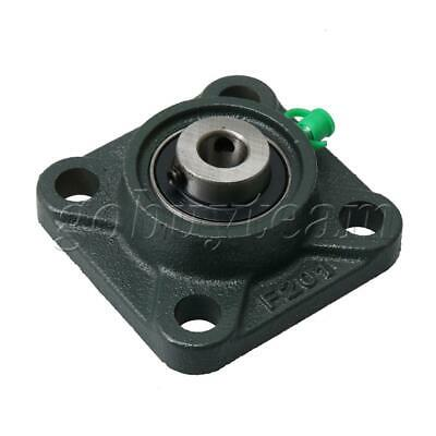 UCF201 12mm Dia Square Flange Bearing Housing for Mounting Fixed Bear
