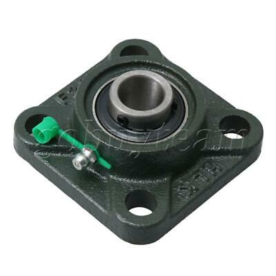 UCF203 17mm Dia Square Flange Bearing Housing for Mounting Fixed Bear