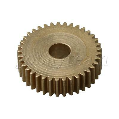 Cylinder 37 Teeth 0.5 Module Brass Motor Copper Gear 19.5mm Tip Circle