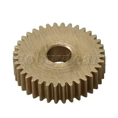Cylinder Type 32 Teeth Brass Motor Copper Gear 0.5 Module 5mm Hole Dia