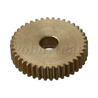Cylinder Type 40 Teeth Brass Motor Copper Gear 0.5Module 21mm Tip Circle