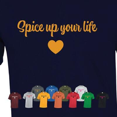 Spice Girls World Tour 2019 Inspired Gift T Shirt Top Tee Present Up Your Life