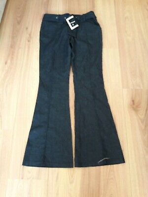 Girls Tailored Jeans With Cotton Belt From Tammy Age 13yrs