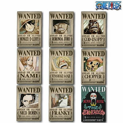 One Piece Wanted Poster UP TO DATE WHOLE CAKE ISLAND | Latest New Neu Big Mom