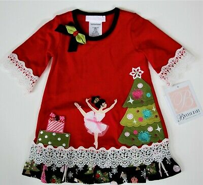 575711d793b1 Bonnie Baby Nutcracker Dress Size 12, 24 Months Brand New Red Festive  Christmas
