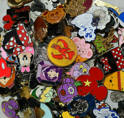 Disneyland Disney World trading pin lot 50 booster RANDOM MIXED LOT Mystery