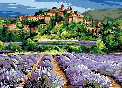 SEG de Paris Tapestry/Needlepoint Kit – Lavender Fortress (Citadelle)