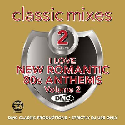 DMC I Love New Romantics 80s Anthems Vol 2 Continuous Mix 2 Trackers DJ CD Mixes