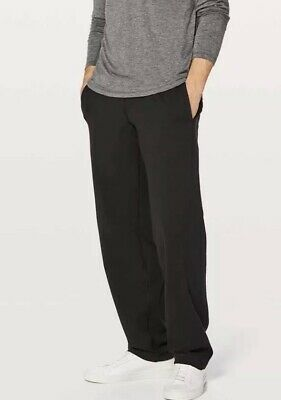 8843816b2d Lululemon Kung Fu Pants Men's Sizs Large Black Drawstring Athletic Workout  Pant