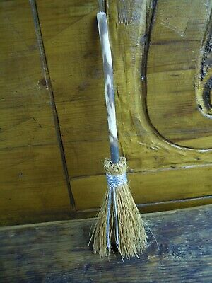 Witches Mini broom Besom Altar spell supplies Pagan Wiccan Witchcraft Silver