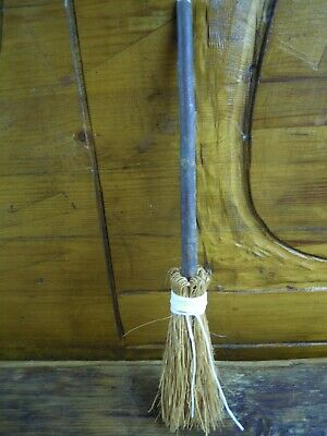Witches Mini broom Besom Altar spell supplies Pagan Wicca Witchcraft white cord