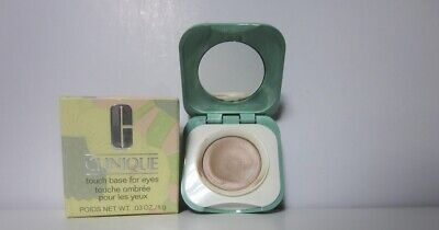 Clinique Touch Base for Eyes Canvas Light Eyeshadow Primer , New in Box