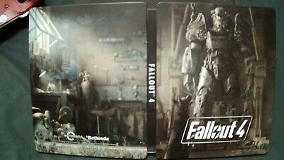 Fallout 4 Steelbook (Xbox One/PS4) + Art/Post cards