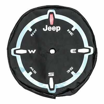 Jeep® Wrangler JL Genuine Mopar® Compass Spare Wheel Cover New K 82215446
