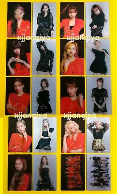 TWICE TWICELIGHTS Concert World Tour 2019 Official Lenticular Photocard SET