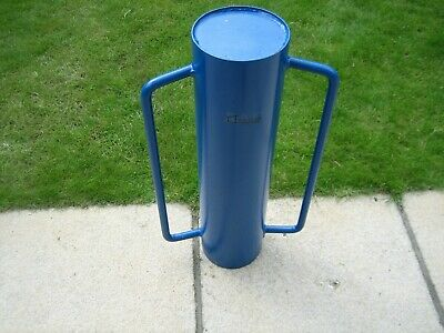 Post Rammer Heavy Duty Blue Fence Banger Driver by Hausen
