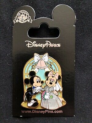 Disney Parks Pin Trading Mickey & Minnie Wedding Day