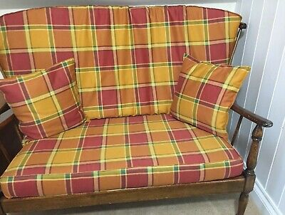 ercol type lounge retro vintage 2 seater Sofa Great Condition