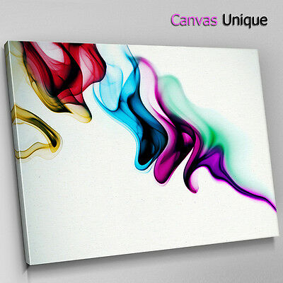 AB406 Retro Colourful Cool Modern Abstract Framed Wall Art Large Picture Prints