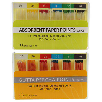 Dental Absorbent Paper Points Gutta Percha Points Dental Materials Good Quality