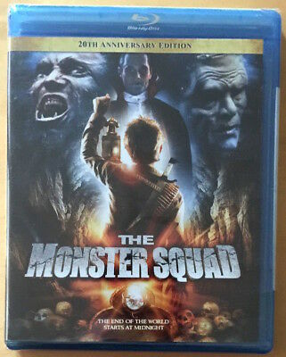 The Monster Squad 20Th Anniversary Blu Ray Us Import Brand New Sealed Very Rare