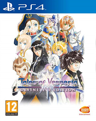 PS4-Tales Of Vesperia (Definitive Edition) (UK IMPORT) GAME NEW