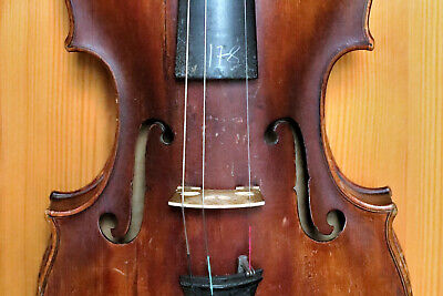 Very old violin - Sehr alte 4/4 Geige ~ 18. Jhd.