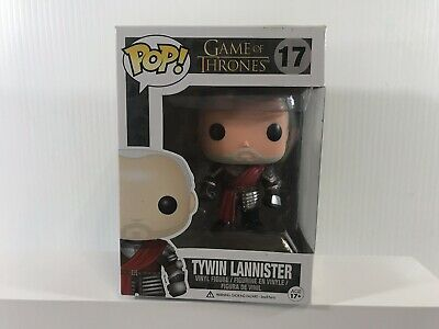 Game of Thrones Funko Pop! Tywin Lannister #17 Silver Armor Vaulted