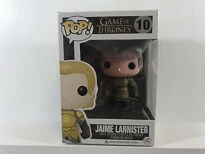 Funko Pop Game of Thrones #10 Jaime Lannister in Gold Armor Vaulted Retired