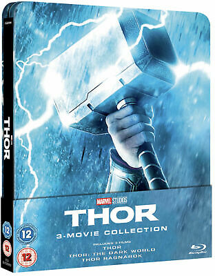 Thor Trilogy Zavvi Exclusive Steelbook **Brand New Sealed**