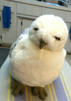 """Wizarding World of Harry Potter Hedwig Owl 11"""" Plush Doll Puppet with swivel he"""