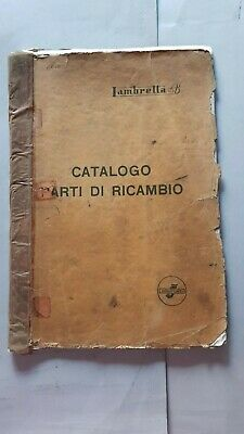 Innocenti Lambretta 125 B catalogo ricambi originale spare parts catalogue