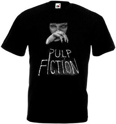 Pulp Fiction v10 T-shirt black Quentin Tarantino all sizes S-5XL