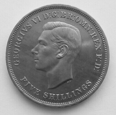 George VI 1951 FIVE SHILLINGS Coin in Good Condition.