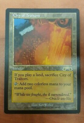 City of Traitors - Exodus, 1xSP MTG *Nairus83*