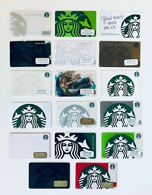 STARBUCKS US SIREN MERMAID PICK YOUR Card Rare HTF Special Edition Collections