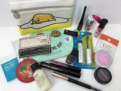 MAKEUP LOT Ellen Tracy Hard Candy VS PINK MARY KAY Cosmetic Bag 21 Pieces NEW