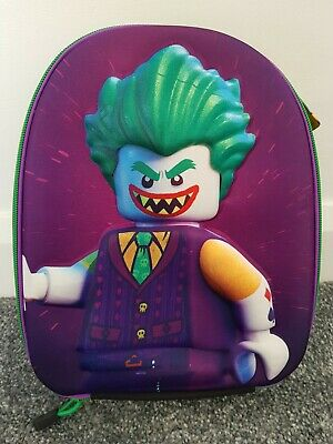 Batman Lego Movie Joker 3D Boys Rucksack Kids School Bag Lunch Bag
