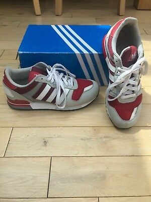DEADSTOCK Adidas Originals ZX700 - RED / GREY / WHITE - Mens Size UK 7