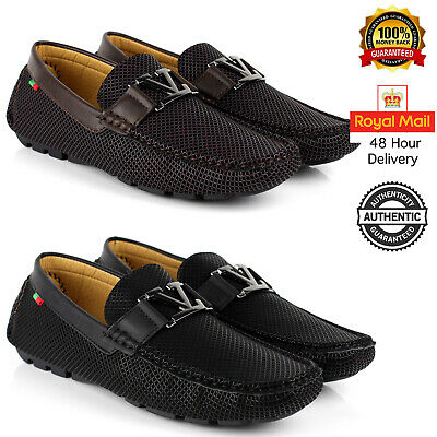 Mens Casual Smart Slip On Shoes Loafers Designer Driving Office New Size