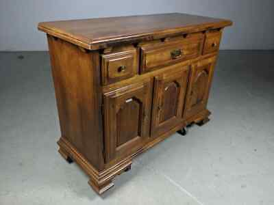 Temple Stuart Rockingham Solid Maple Sideboard Buffet Colonial Early American