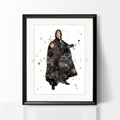 Snape Always Wizard Magic Movie Wall Art Framed Canvas Pictures Harry Potter