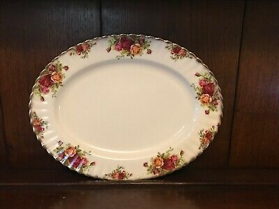 "Royal Albert Old Country Roses Serving Plate 33 cm x 25.8 cm / 13"" x 10"""