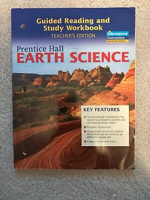 PRENTICE HALL EARTH Science 6th Grade 6 Guided Reading And