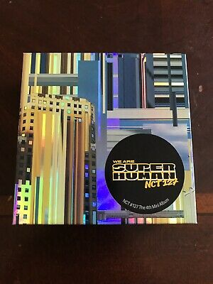 NCT 127 NCT127 4th Mini We Are Superhuman Official Kihno Version Album NO CARDS